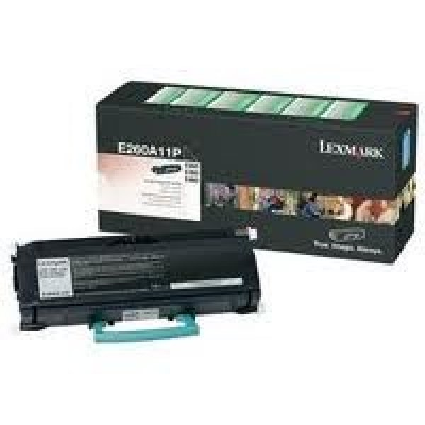 LEXMARK Black (return Program) Toner Yield 3500 E260A11P