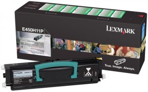 LEXMARK Black (return Program) Toner Yield E450H11P