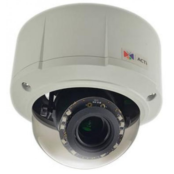 CANON ACTI - 5mp Outdoor Dome 4.3x Zoom Lens E815