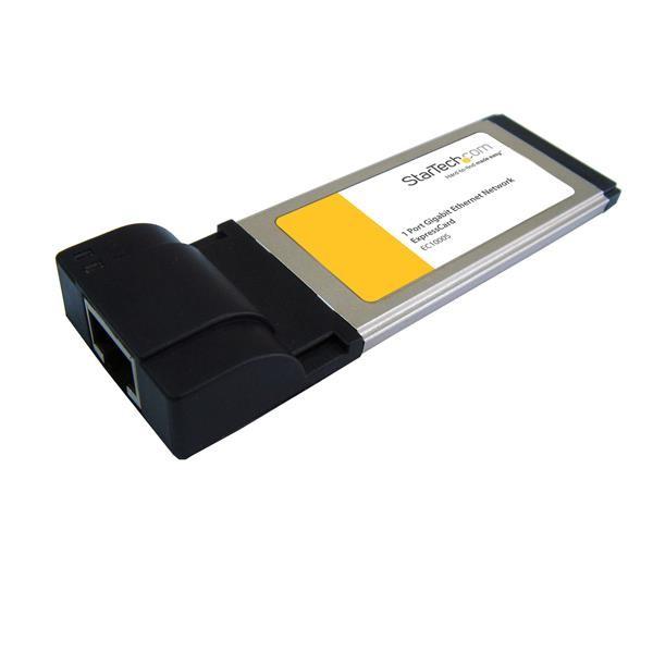 STARTECH 1 Port Expresscard Gigabit Laptop EC1000S