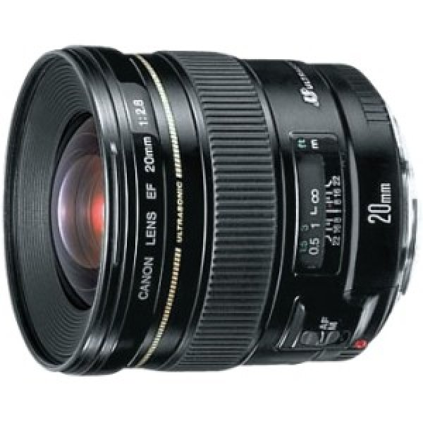 CANON Ef 20mm F/2.8 Usm Diameter 72mm To Suit EF2028U