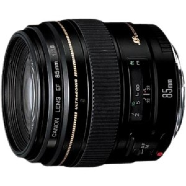 CANON Ef 85mm F/1.8 Usm Diameter 58mm To Suit EF8518U