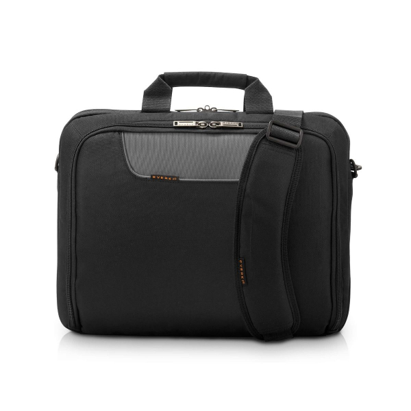 Everki 16 Quot Advance Compact Briefcase Desktop and Servers (EKB407NCH)