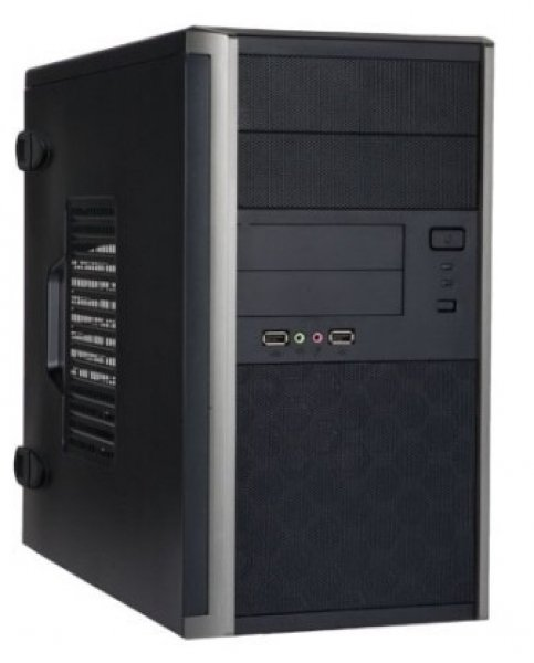 IN WIN Em035 Matx Mini Tower Black 400w 80+ Gold EM035BK400U3GOLD