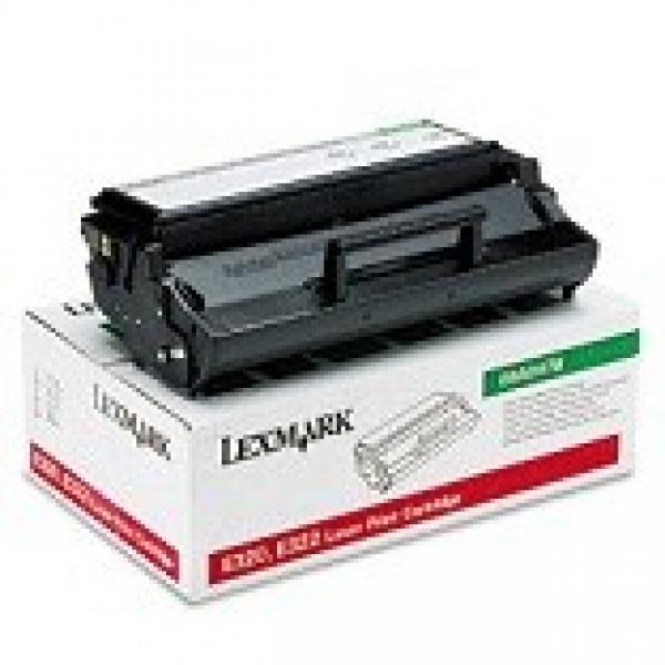 LEXMARK Black (return Program) Toner Yield 6000 08A0478