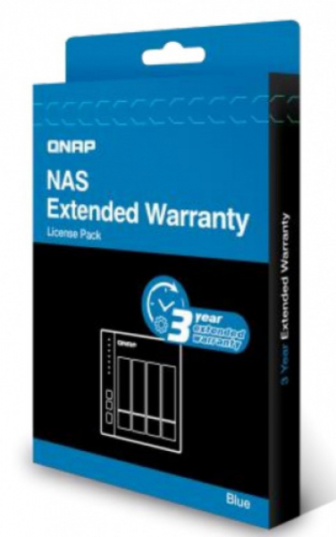 Qnap Extended Warranty From 2 Year To 5 Year - Blue NAS Accessories (EXTW-BLUE-3Y-EI)