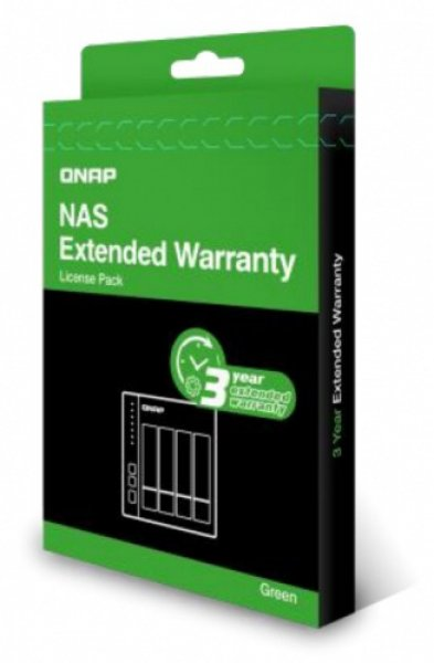 Qnap Extended Warranty From 2 Year To 5 Year - Green NAS Accessories (EXTW-GREEN-3Y-EI)