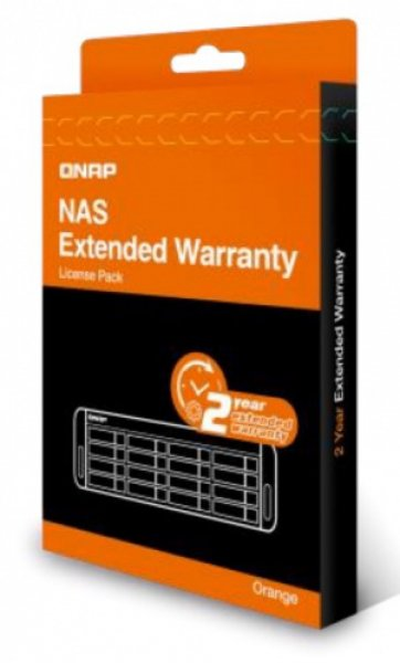 Qnap Extended Warranty From 3 Year To 5 Year - Orange NAS Accessories (EXTW-ORANGE-2Y-EI)