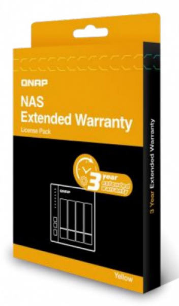 Qnap Extended Warranty From 2 Year To 5 Year - Yellow NAS Accessories (EXTW-YELLOW-3Y-EI)
