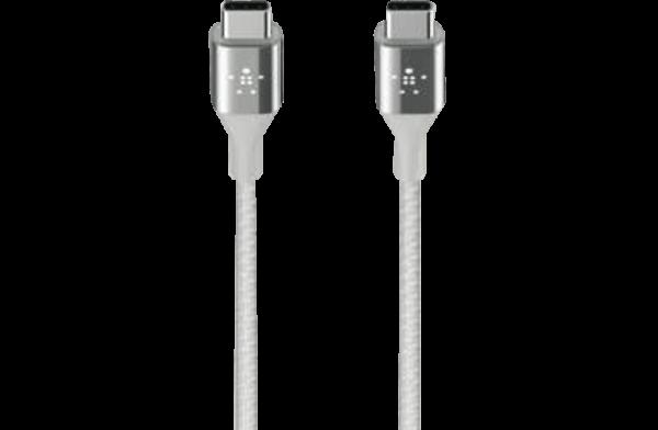 BELKIN Mixitup Duratek Usb-c Cable Silver ( F2CU050BT04-SLV