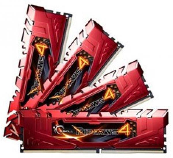 G.SKILL Ripjaws 4 Ddr4 2133 Mhz 32gb Kit 4x8gb F4-2133C15Q-32GRR