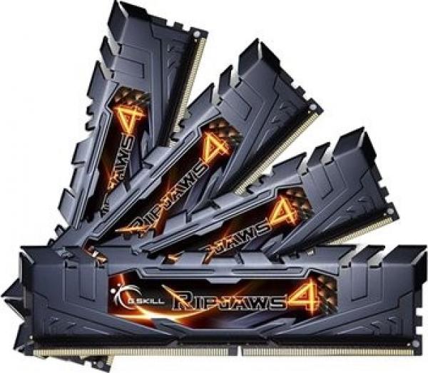 G.SKILL Ripjaws 4 Ddr4 2400 Mhz 32gb Kit 4x8gb F4-2400C15Q-32GRK