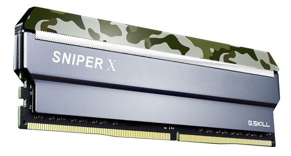 G.SKILL Sniperx 16g Kit (2x8g) Pc4-19200 / Ddr4 F4-2400C17D-16GSXF