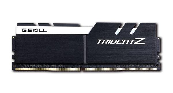 G.skill Tridentz 32g Kit (2x 16g) Pc4-25600 Ddr4 3200mhz 14-14-14-34 ( F4-3200c14d-32gtzkw )