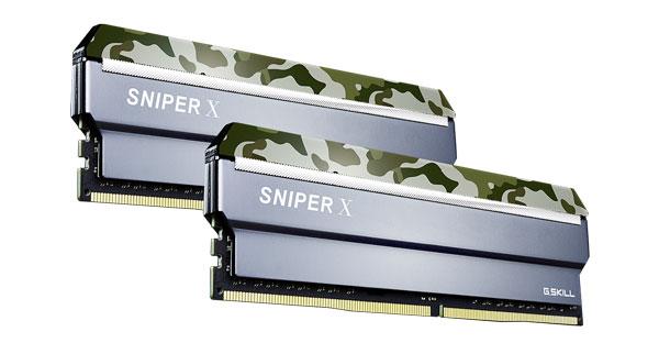G.SKILL  Sniper X 16gb (2 X 8gb) Ddr4 320 ( F4-3200C16D-16GSXFB