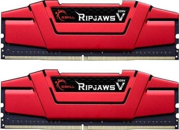 G.Skill Ripjawsv 16G Kit (8G X2) PC4-25600 DDR4 3200MHz 16-16-16-36  (F4-3200C16D-16GVR)