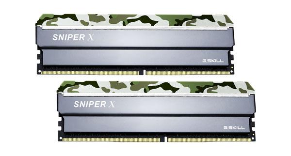 G.SKILL  Sniper X 32gb (2 X 16gb) Ddr4 32 ( F4-3200C16D-32GSXFB