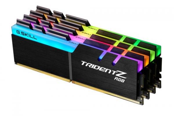 G.SKILL TridentZ RGB Series 32GB DDR4-3200 Memory F4-3200C16Q-32GTZR