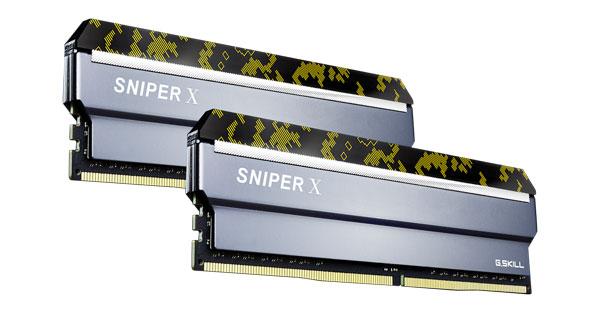 G.skill Sniperx 32g Kit (2x 16g) Pc4-28800 Ddr4 3600mhz 19-20-20-40  ( F4-3600c19d-32gsxkb )