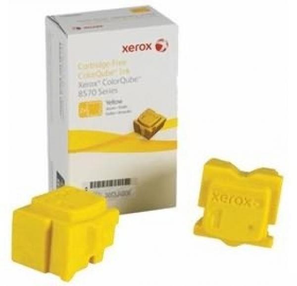FUJI XEROX PRINTERS Colorqube Yellow Ink 108R00943