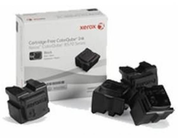 FUJI XEROX PRINTERS Colorqube Black Ink Sticks 108R00945