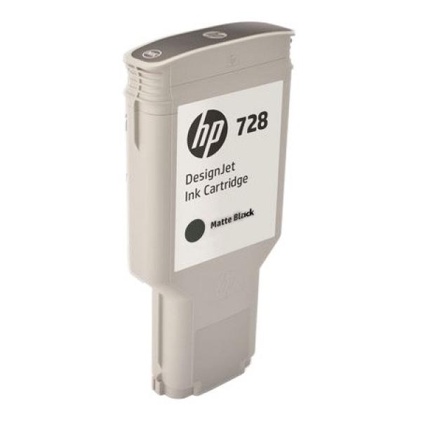 HP No 728 Matteblack Designjet Ink Cartridge 300ml  F9J68A