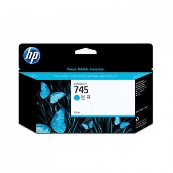 HP Ink Cartridge No 745 Cyan F9J97A