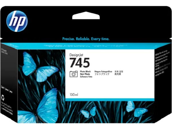 HP Ink Cartridge No 745 Photoblack F9J98A
