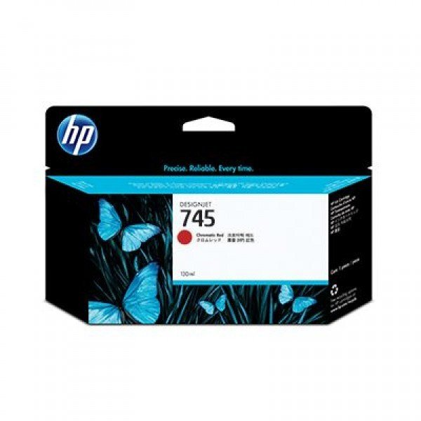 HP Ink Cartridge No 745 Chrom Red F9K00A