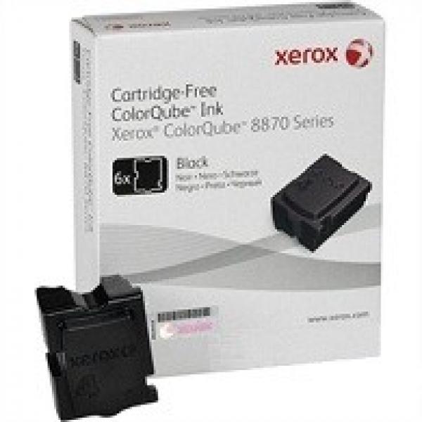 FUJI XEROX PRINTERS Black Ink Sticks 6 Pack - 108R00988