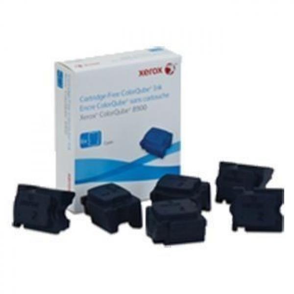 FUJI XEROX PRINTERS Cyan Ink Sticks 6 Sticks 108R01030