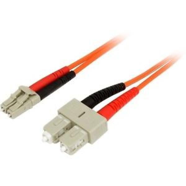 STARTECH 2m Multimode 62.5/125 Duplex Fiber FIBLCSC2