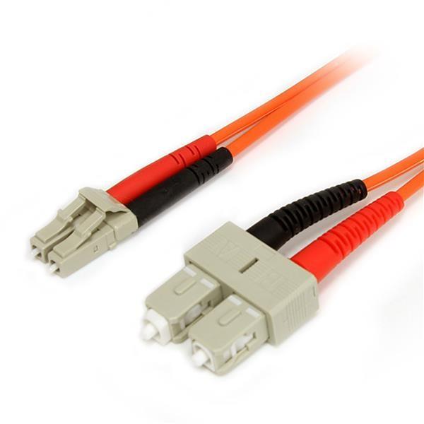 STARTECH 3m Multimode 62.5/125 Duplex Fiber FIBLCSC3
