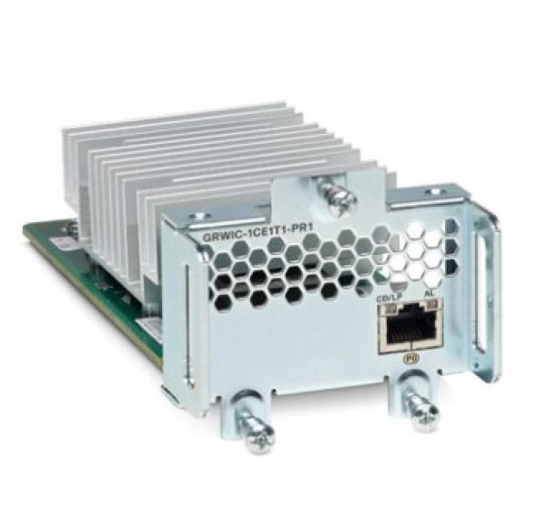 CISCO  1 Port Channelized T1/e1 And Pri GRWIC-1CE1T1-PRI