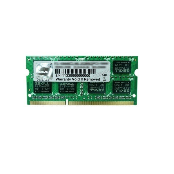 G.SKILL Ddr3-1600 4gb Single Channel Sodimm GS-F3-1600C11S-4GSL