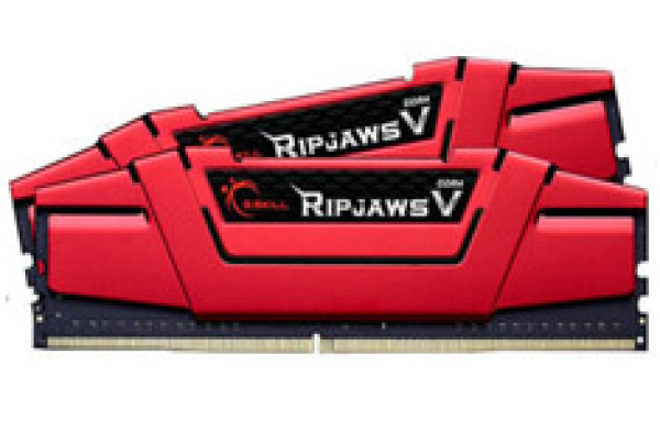 G.SKILL Ddr4-2400 16gb Dual Channel Ripjaws V GS-F4-2400C15D-16GVR