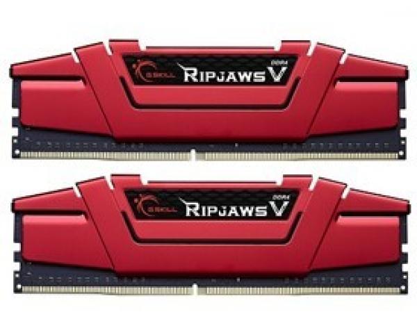 G.SKILL Ddr4-2666 16gb Dual Channel Ripjaws V GS-F4-2666C15D-16GVR