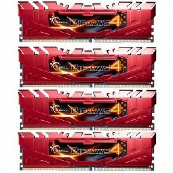 G.SKILL Ddr4-2666 16gb Quad Channel ripjaws4 GS-F4-2666C15Q-16GRR