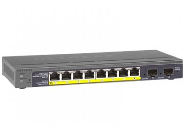 NETGEAR Gs110tp Prosafe 8-port Gigabit Ethernet GS110TP-200AJS