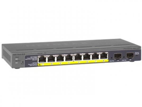 NETGEAR Gs110tp Prosafe 8-port Gigabit Ethernet GS110TP-200AJS