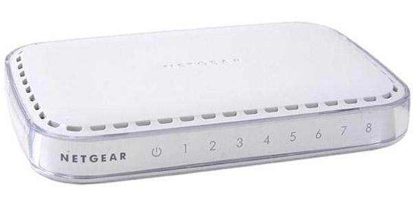 NETGEAR Ntg 8-port Gigabit Ethernet Desktop GS608