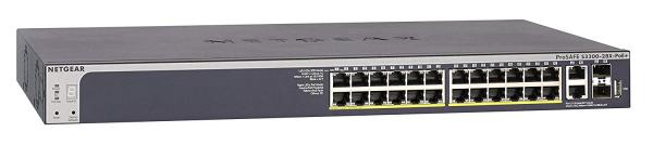 NETGEAR S3300-28x-poe+ - Prosafe 24-port Poe+ GS728TXP-100AJS