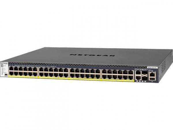 NETGEAR M4300-52g-poe+ 48-port Fully Managed GSM4352PA-100AJS