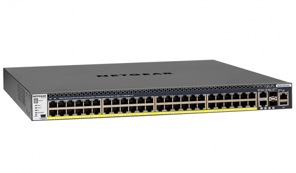 NETGEAR M4300-52g-poe+ 48-port Fully Managed GSM4352PB-100AJS