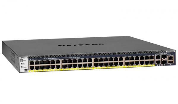 NETGEAR M4300-52g-poe+ 48-port Fully Managed GSM4352PB-100AJS