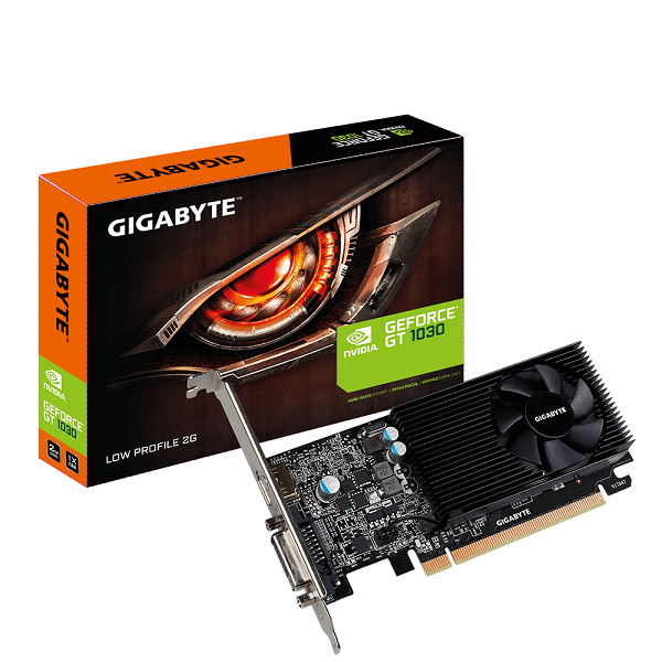 GIGABYTE  Nvidia Geforce Gt 1030 2gb Pcie Video GV-N1030D5-2GL