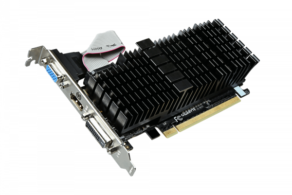 GIGABYTE  Nvidia Geforce Gt 710 1gb Pcie Video GV-N710SL-1GL