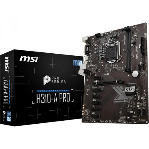 MSI Intel ATX Mother Board (H310-A PRO)