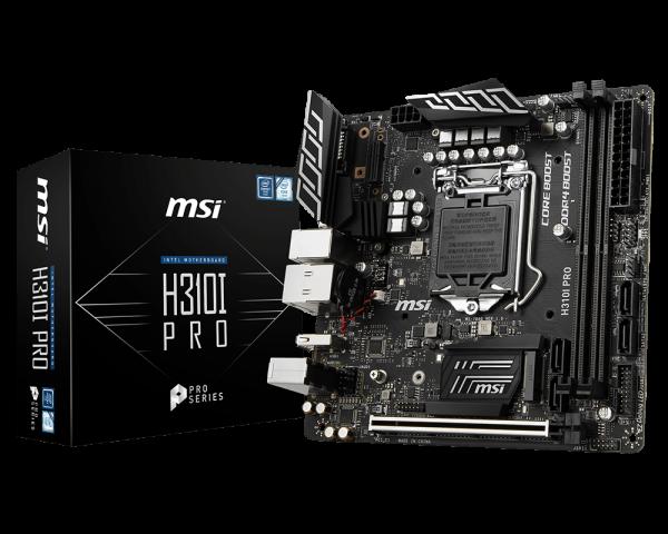 MSI Intel Mini-ITX Mother Board (H310I PRO)