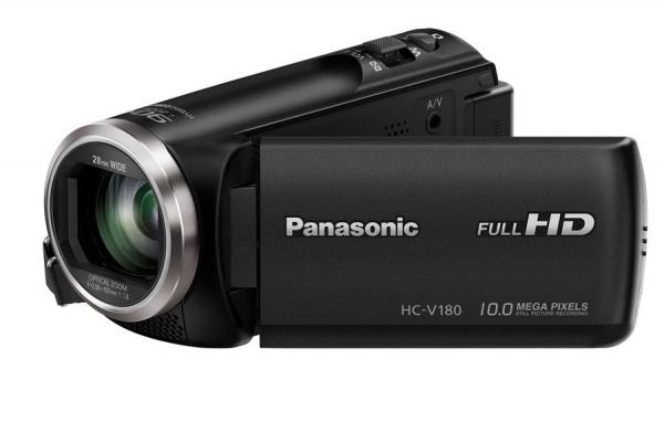 PANASONIC Hc-v180 Black 50x Opt HC-V180GN-K